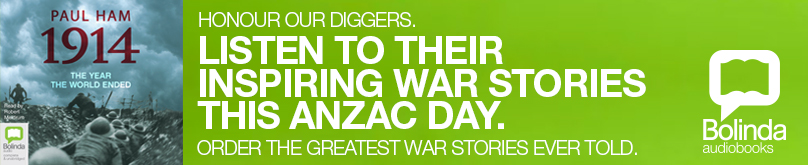 The ANZACs Audio Books