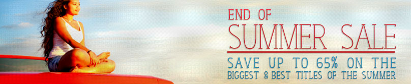 End of summer sale up to 65% off on the biggest & best titles at Booktopia.com.au
