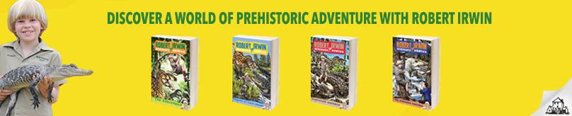 Robert Irwin's Dinosaur Hunter Series