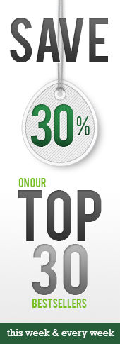 30 Percent Off Top 30 Bestsellers