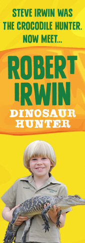 Robert Irwin's Dinosaur Hunter Series