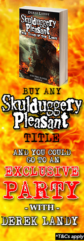 Skulduggery Pleasant Competition